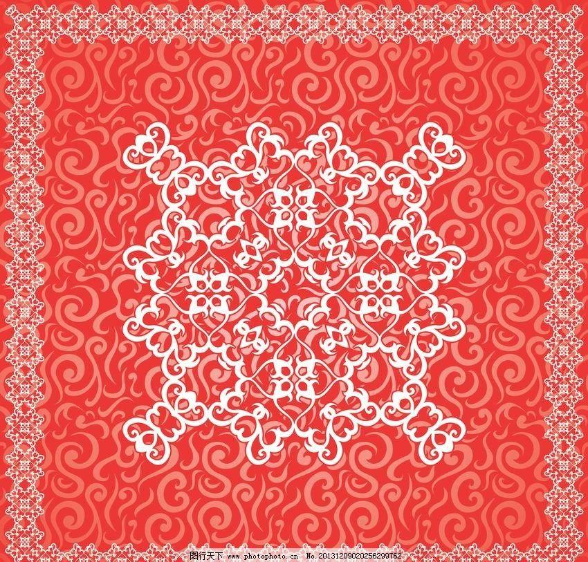 装饰花纹 中国花纹 欧式 古典 花纹 花边 花朵 边框 边角 花卉 标签