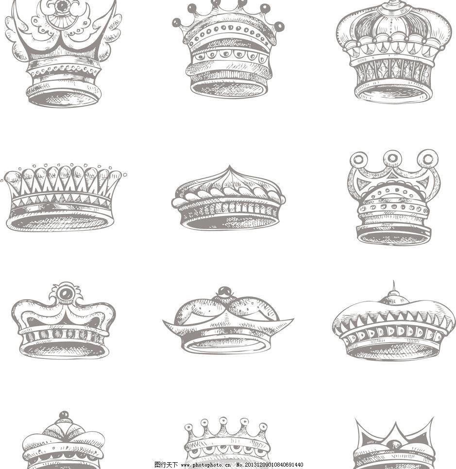 手绘皇冠手机壁纸