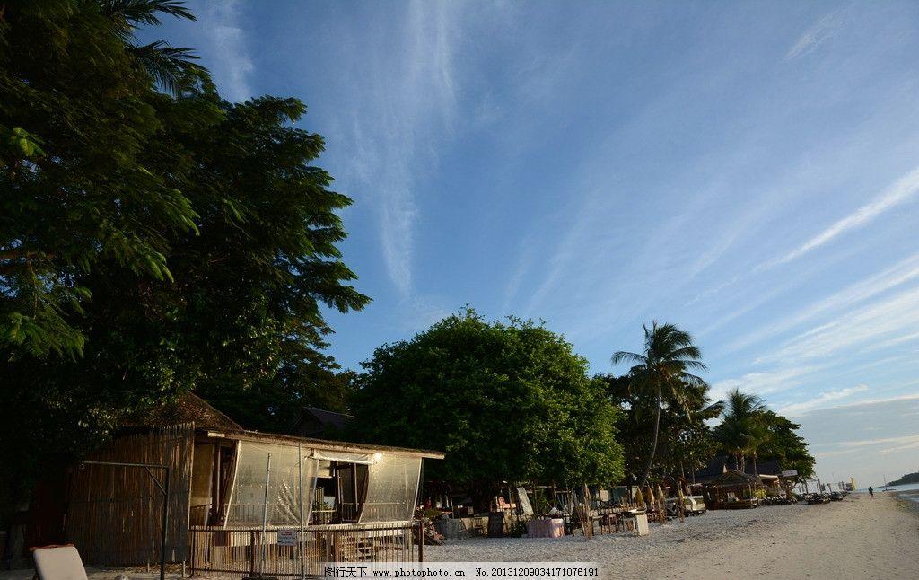 泰国苏梅岛海边沙滩图片