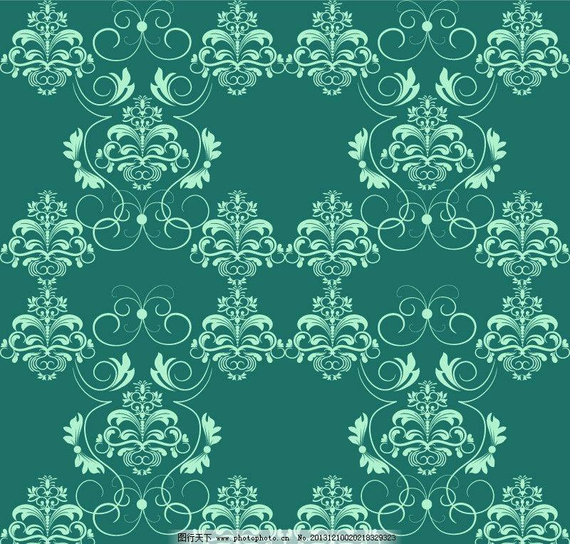 手绘花纹 欧式花纹 欧式古典花纹 杂志封面 封面设计 欧式复古花纹