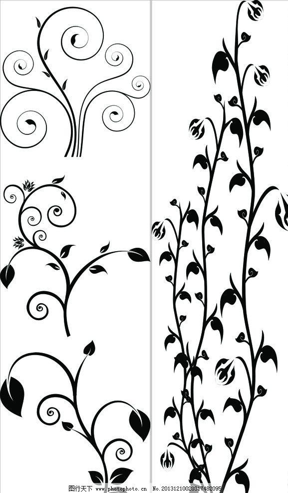 边框花纹图案简单漂亮/简单好看边框花纹剪纸/边框花纹简单漂亮手绘图片