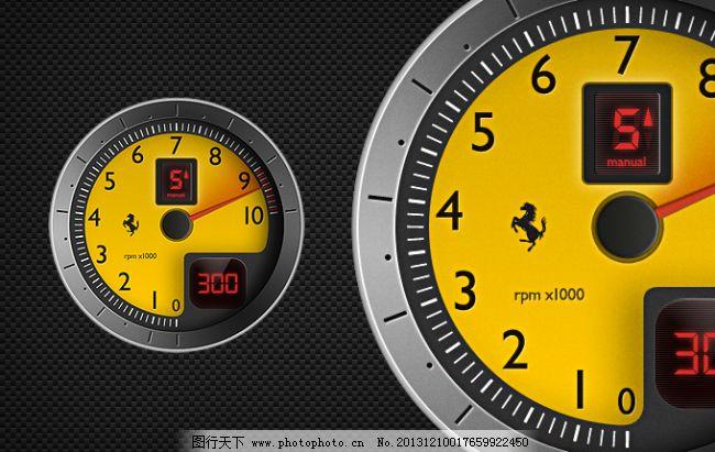 f430转速表