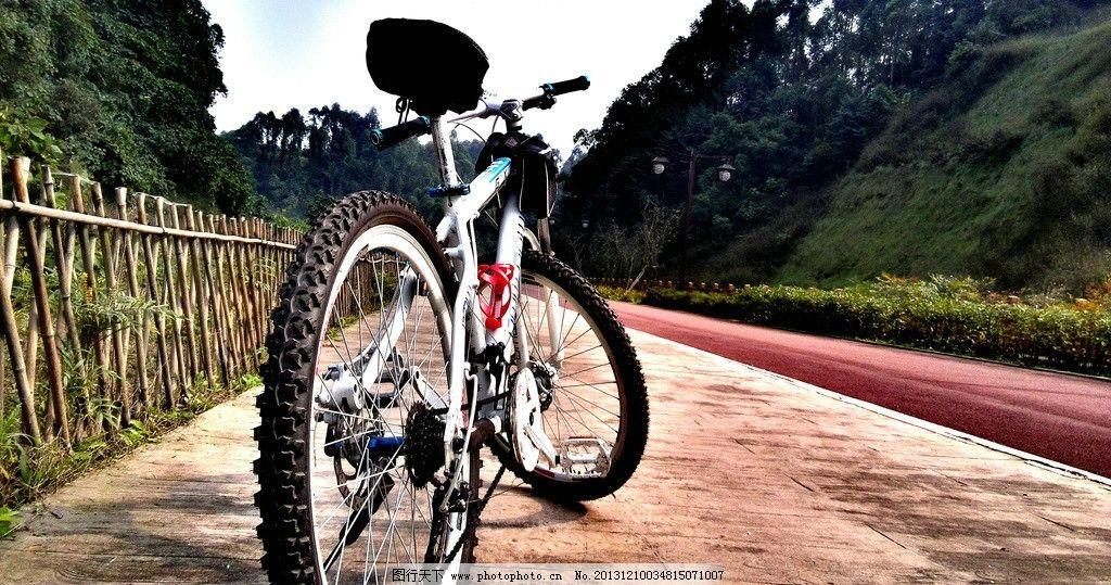 自行车 手机摄影 栅栏 风景 绚丽风景 自然风景 自然景观 摄影 96dpi
