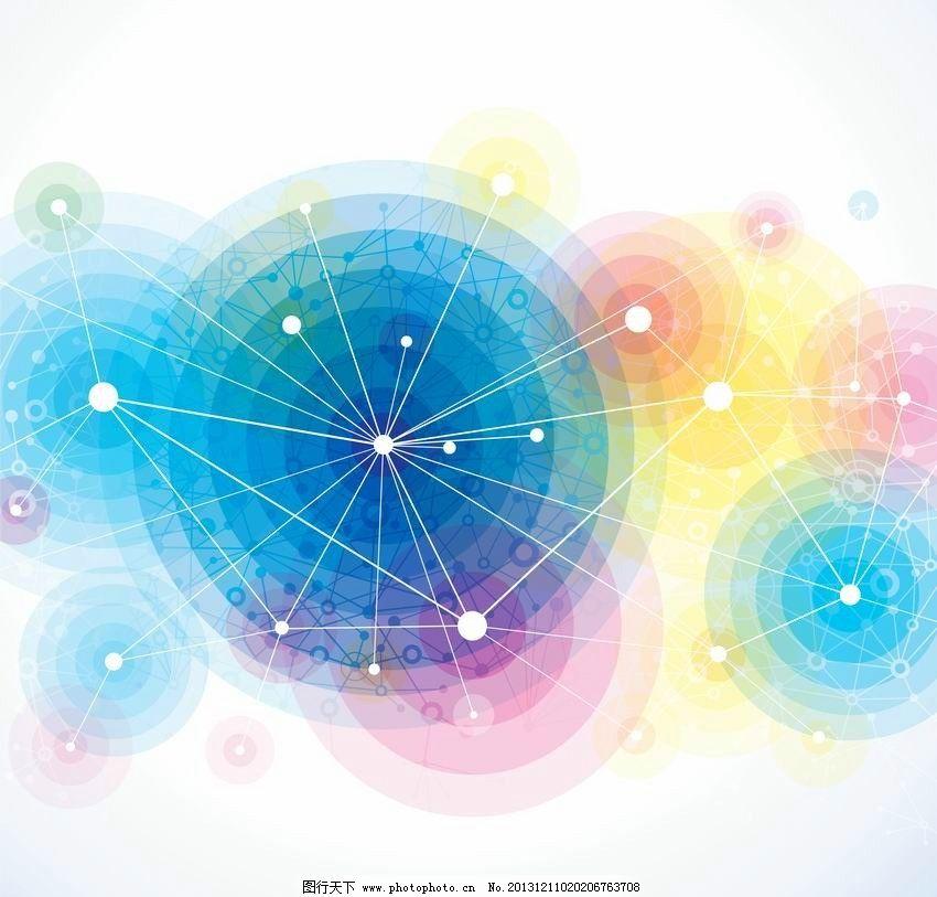 动感圈圈 圆形背景图片