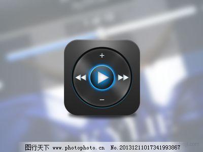 图标麦克风等apple电视风格设计欣赏|UIv图标网麻雀养手机图片