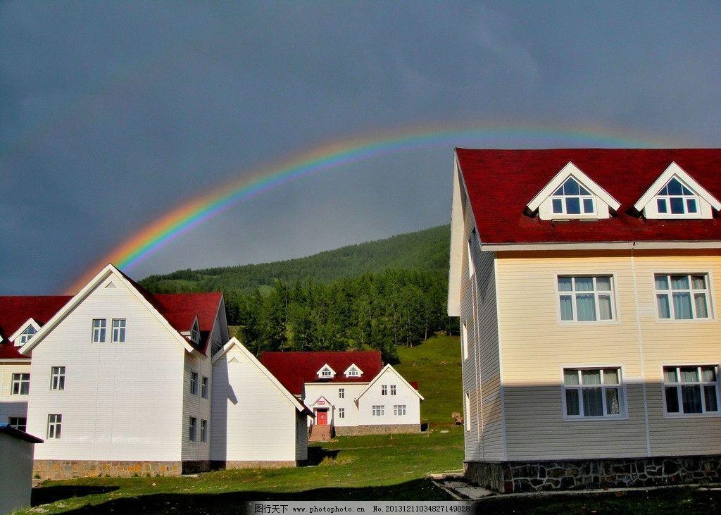 新疆风光 房屋图片
