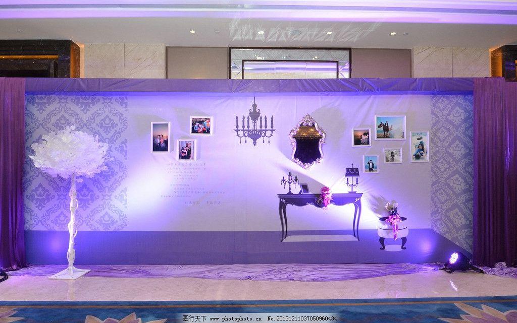 婚庆婚礼 照片 墙图片