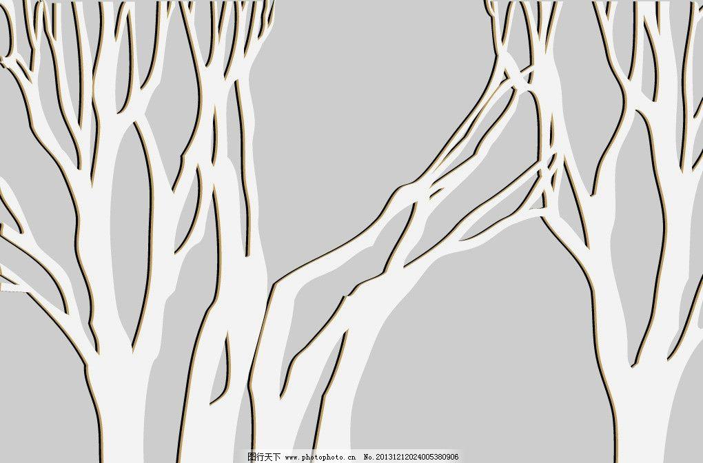 树枝立体小动物