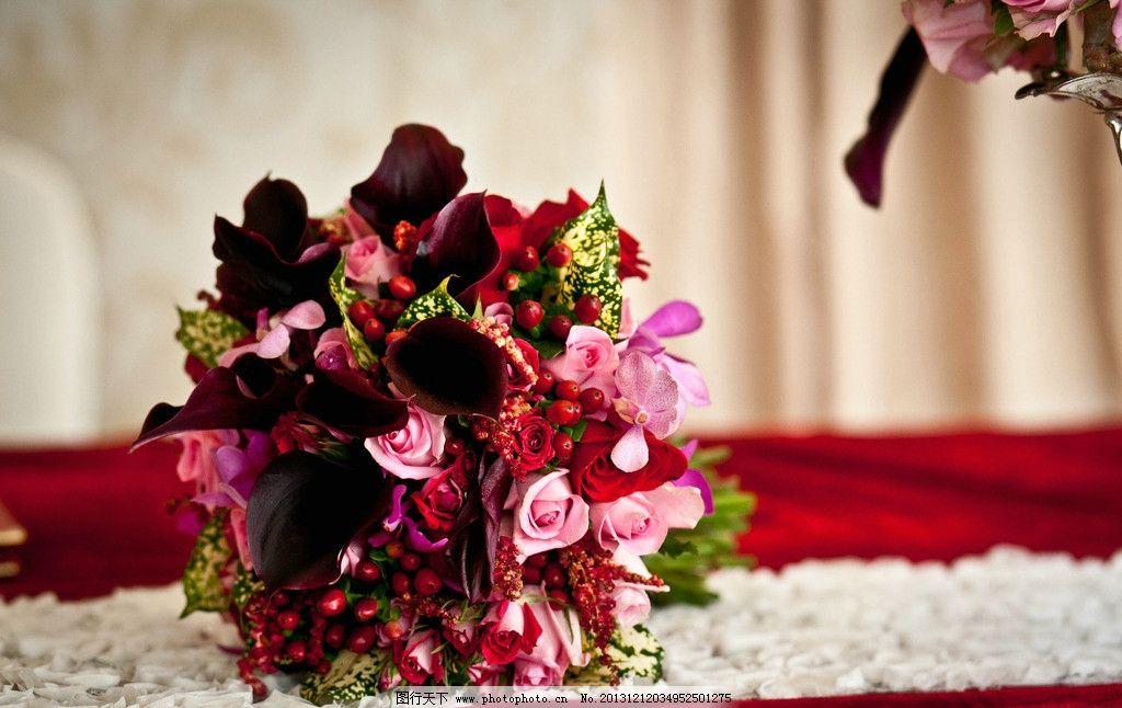 鲜花摄影 婚礼手捧花 手捧花 摄影 鲜花 插花 其他 自然景观 240dpi
