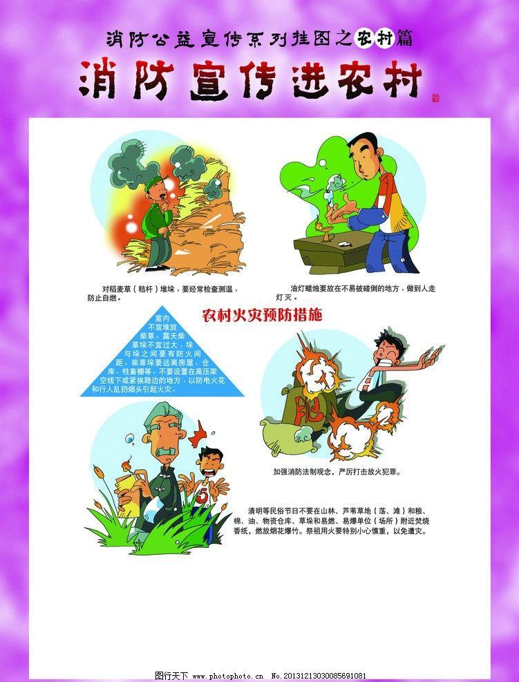 农村宣传海报手绘