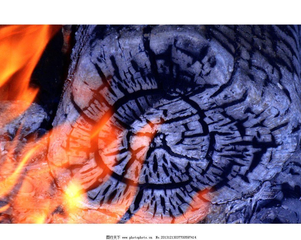 燃烧 火 火花 木炭 烧炭 点燃 火苗 点火 灰烬 木头 炭灰 人工事件