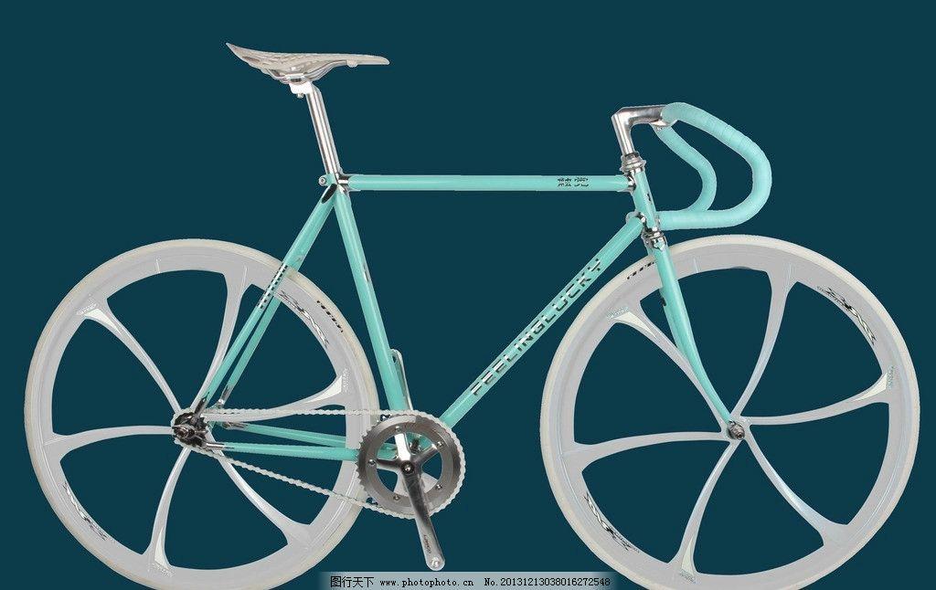 镁合金一体轮 死飞车 自行车 700c一体轮 交通工具 现代科技 摄影 72