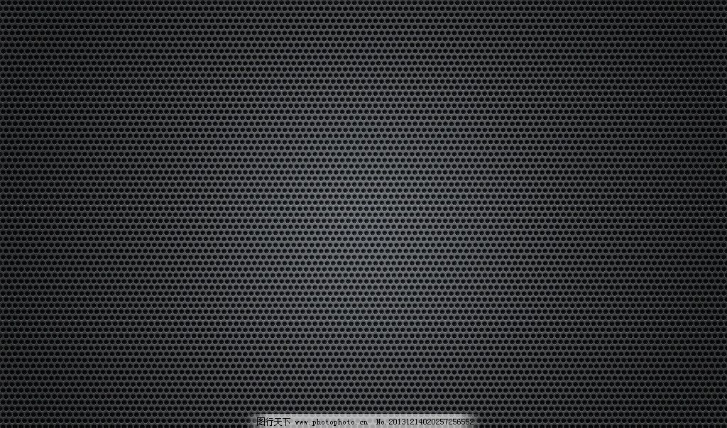 条纹 金属 圆 点 点阵 网 网孔 点状 排列 黑色背景图片模板下载 线条