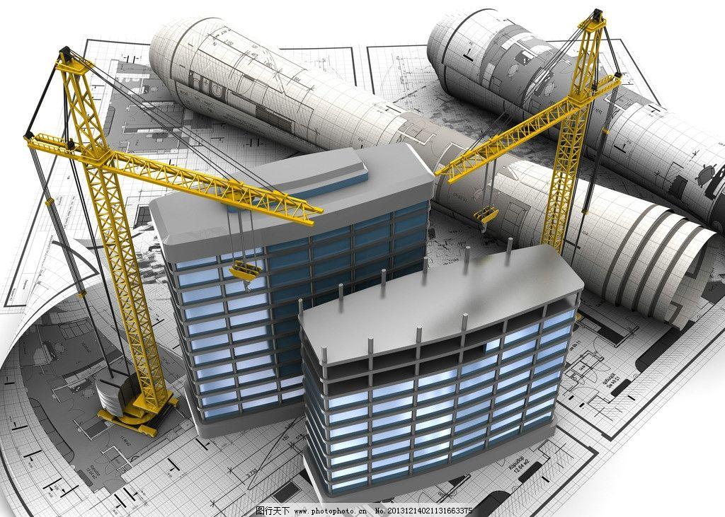 3d建筑模型图纸 建筑设计 建筑图纸 示意图 样板 别墅 住宅
