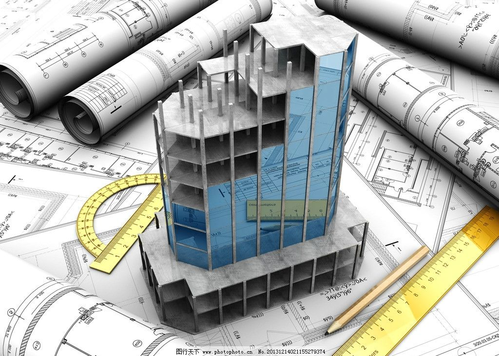 3d建筑模型图纸图片
