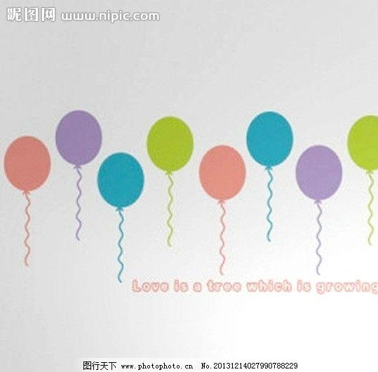 条气球花样图解