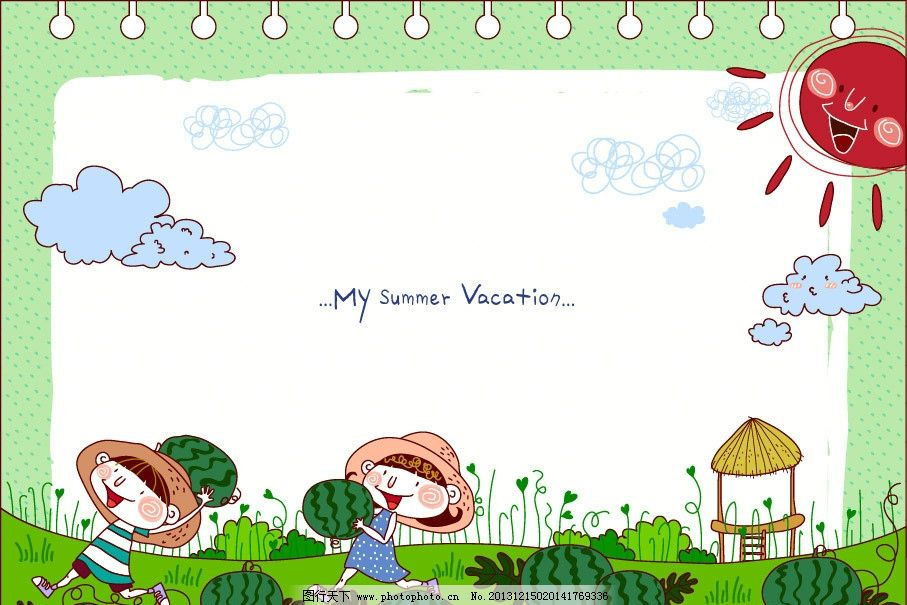 儿童绘画 卡通插画 卡通人物 卡通形象 铅笔画 梦想天空 铅笔彩色画