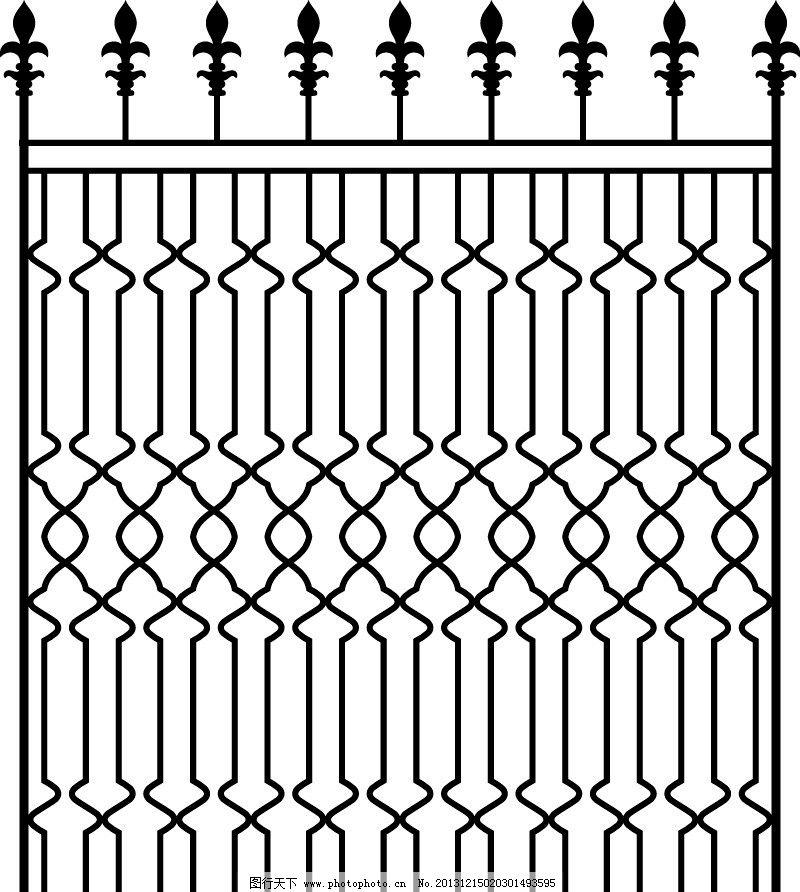 铁艺花纹矢量 门窗 花纹 铁艺 围栏 铁制围墙 铁艺矢量 欧式花纹 边框