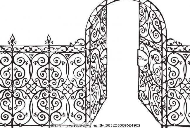 欧洲 建筑 传统 古典 花纹 花边 装饰 设计 矢量 古典建筑欧式