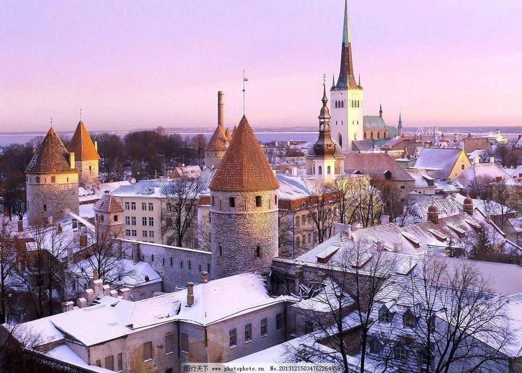西欧城市风情图片图片