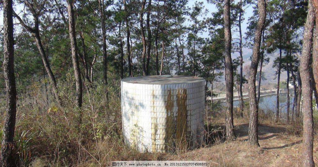 蓄水池 农村公共蓄水池