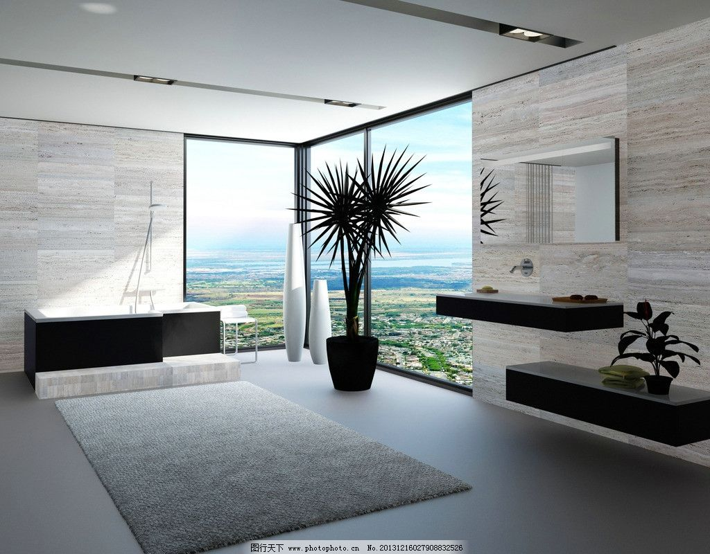 客厅 室内 装修 装饰 装潢 房间 豪华 家具 家居 简约 地毯