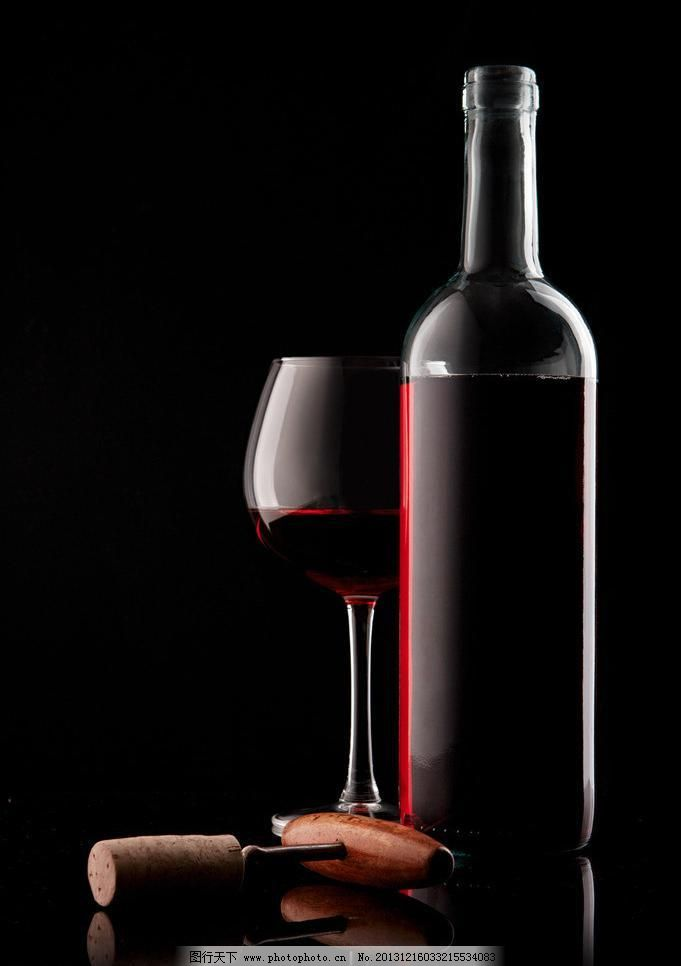 高脚杯 红酒