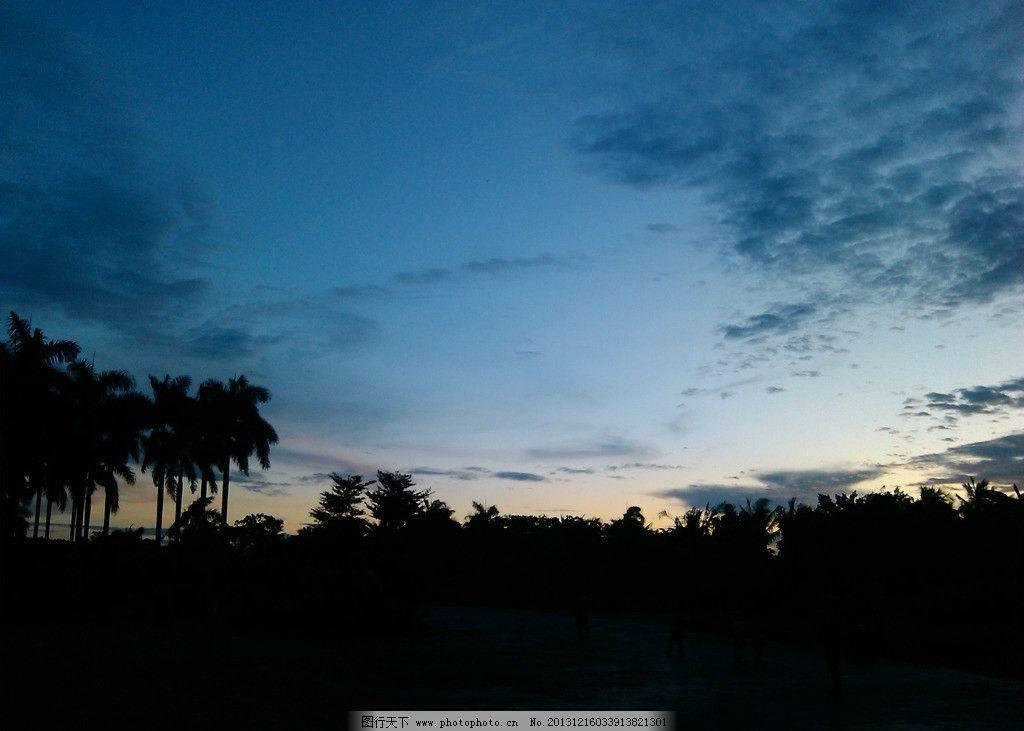海口夕阳 海南 夕阳 椰树 云层 剪影 海口 国内旅游 旅游摄影 摄影 72