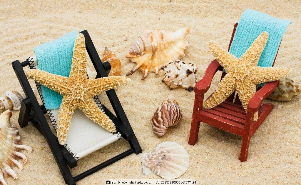 海星 贝壳 沙滩 海螺 海滩 贝类 海洋生物 生物世界 摄影 300dpi jpg