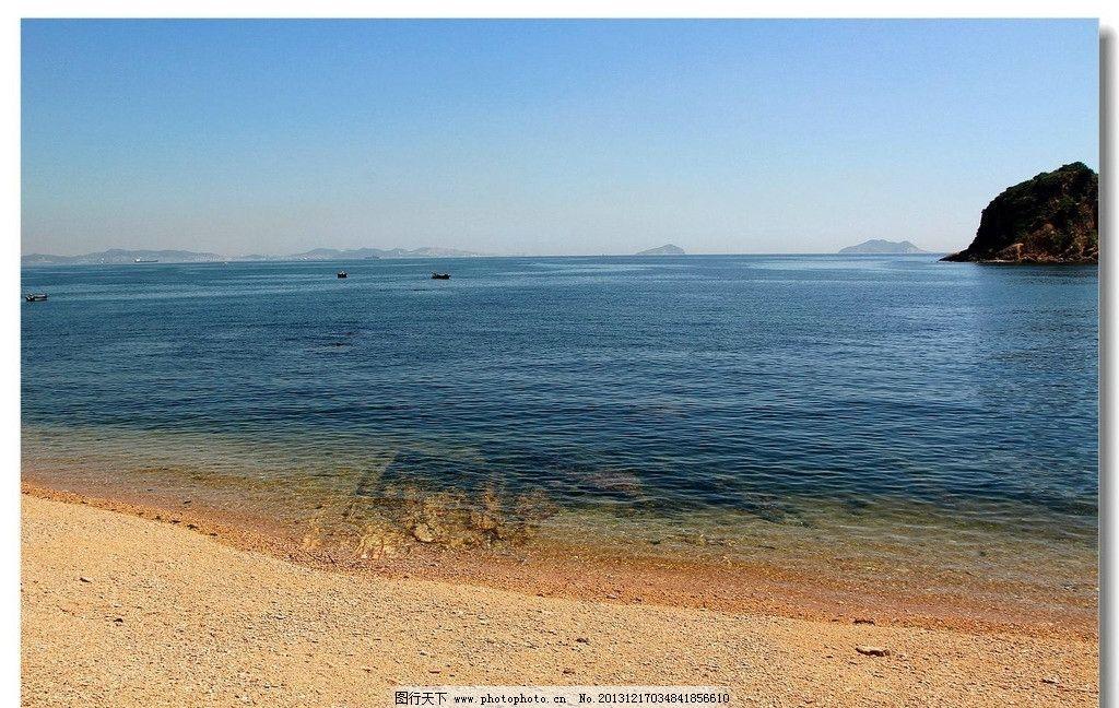 棒棰岛风光 棒棰岛 大海 沙滩 小岛 蓝天 自然风景 自然景观 摄影 72