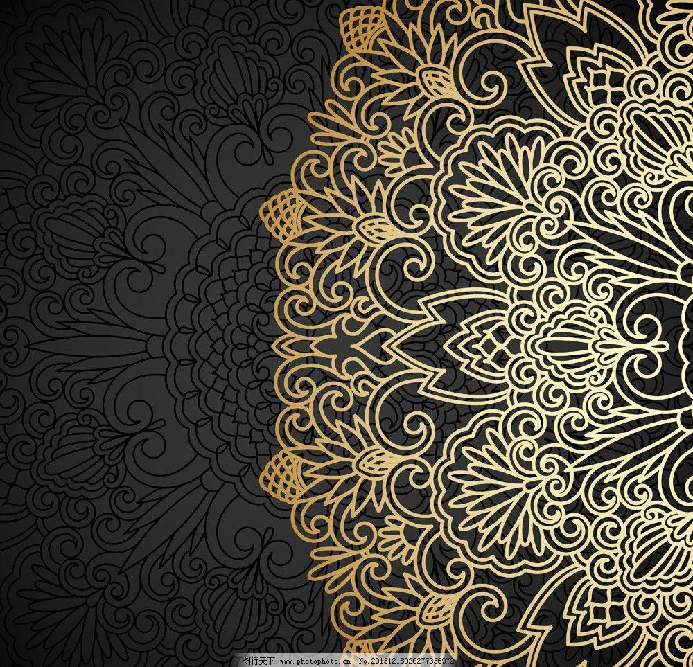 欧式花纹标签 贵族 皇室