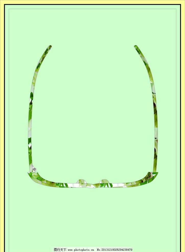 板材眼镜矢量图 眼镜 矢量图