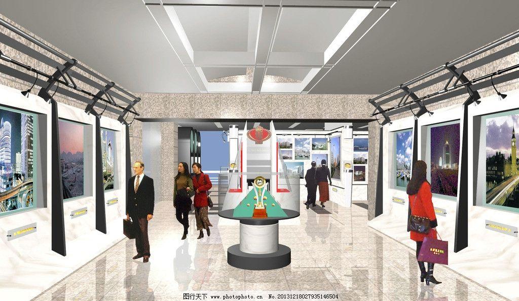 展览馆室内设计效果图图片