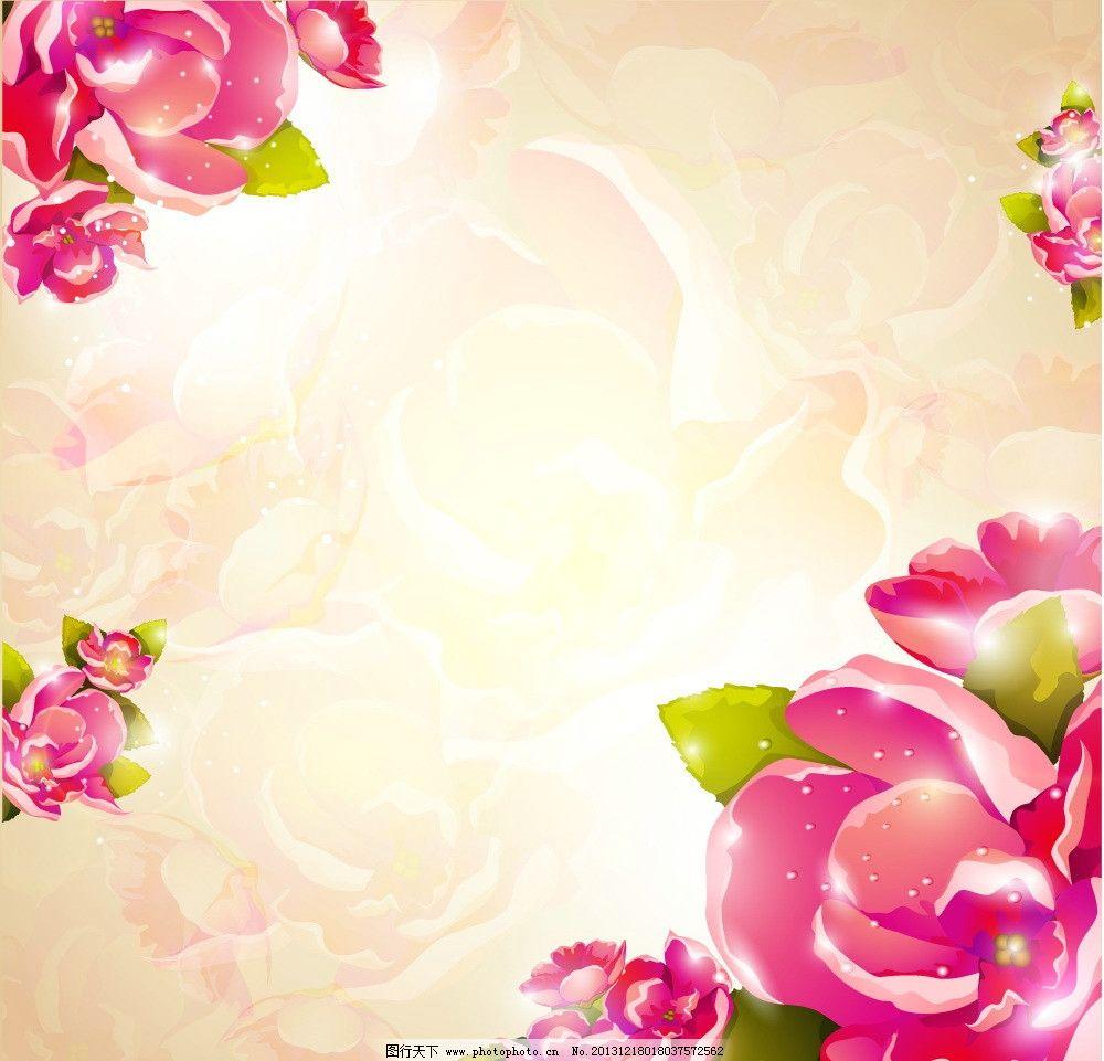 手绘花卉图片_网页界面模板_ui界面设计_图行天下图库