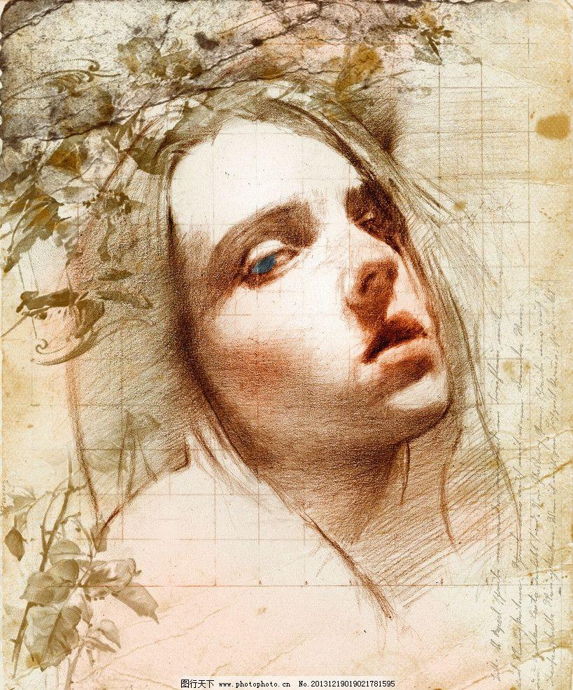 美女人物 美女人物绘画 油画 现代绘画 当代油画 外国美女 少女 金发