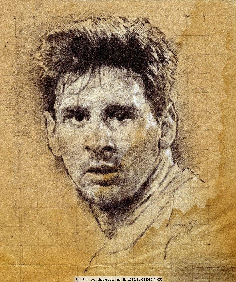 人物手绘油画绘画 油画 现代绘画 当代油画 外国 金发 西方男人 帅哥
