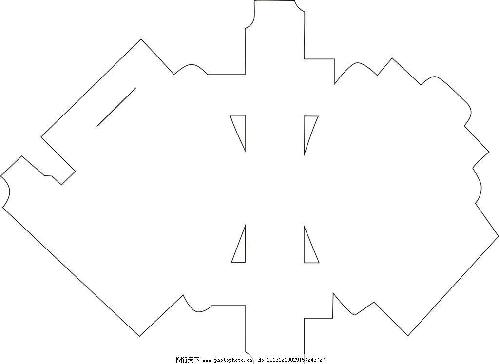 扇形盒形设计图片