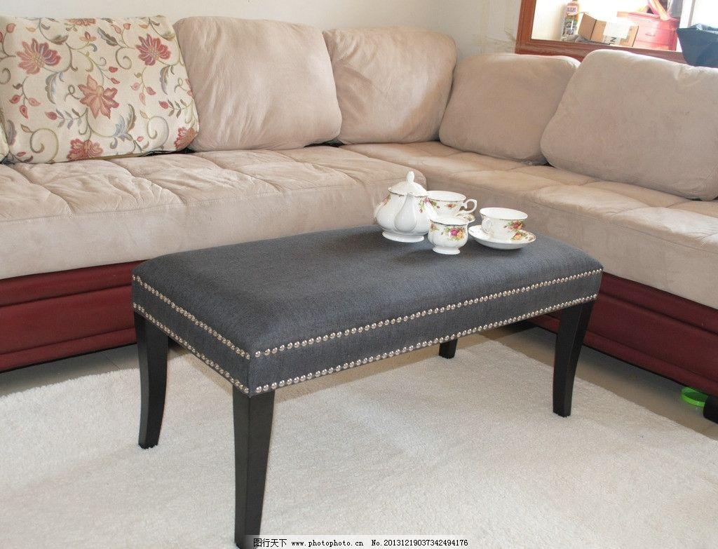 凳子沙发家具家居装修 凳子 沙发 家具 家 居装修 欧式 复古 茶具