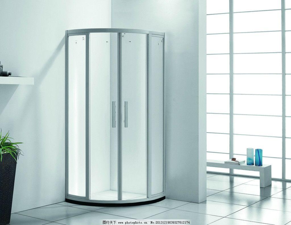 淋浴房 卫生间效果图               卫浴 冲凉房 洗澡 室内摄影 建筑