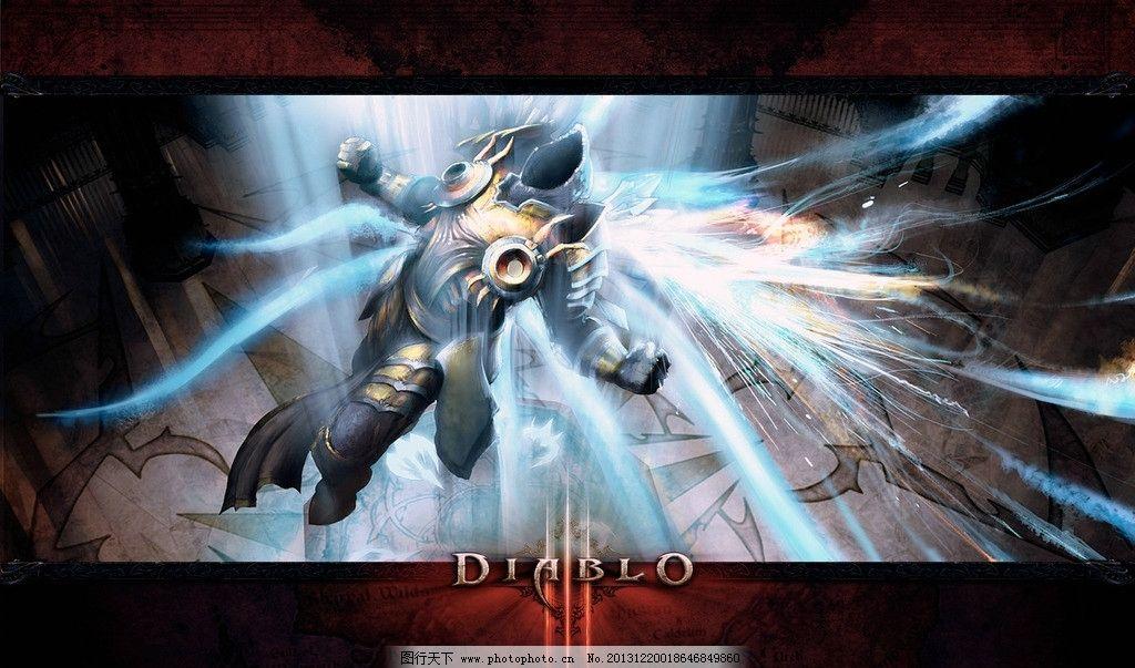 暗黑破坏神 diablo 游戏 插图 配景 暗黑3 其他 动漫动画 设计 72dpi