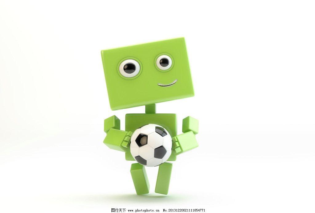 足球安卓机器人图片