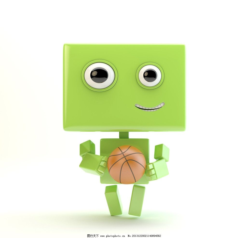 篮球安卓机器人图片