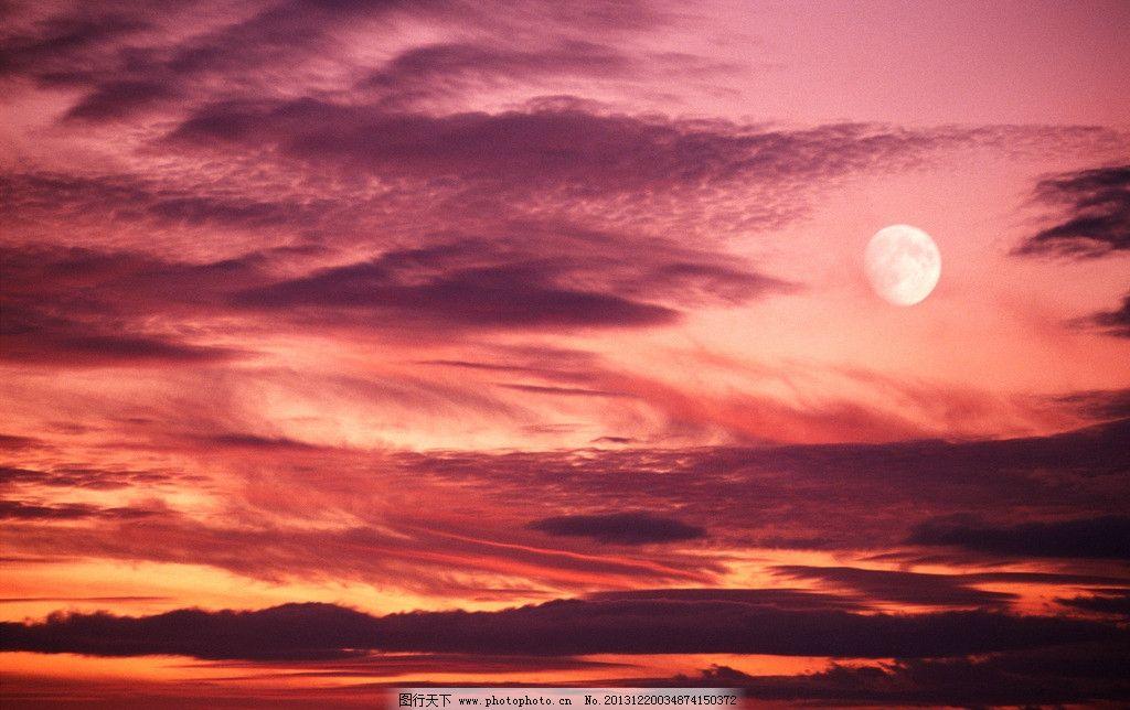 大师风景夕阳 色彩