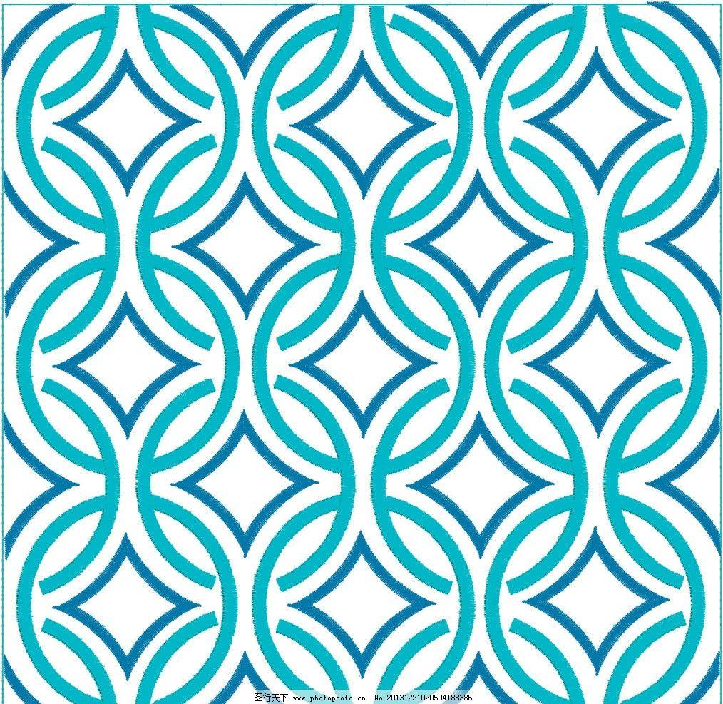 几何花纹 线条 圆形 欧式