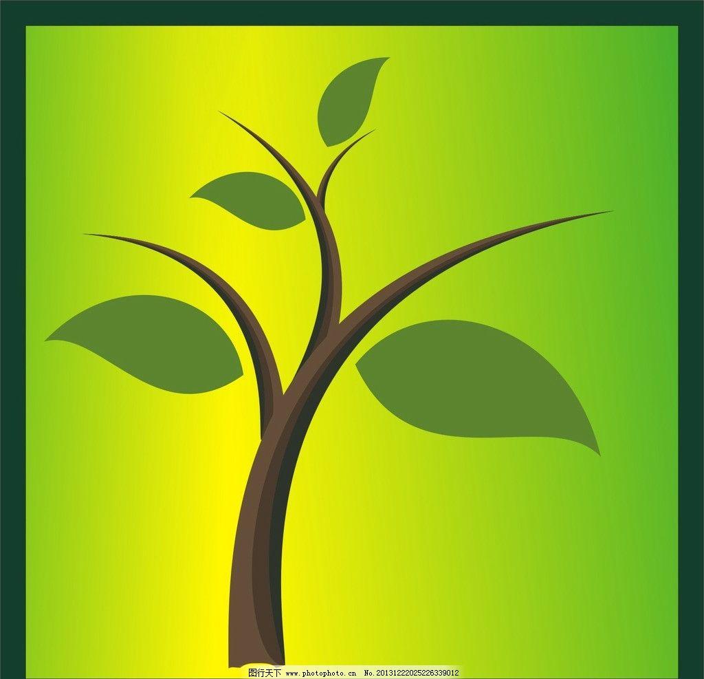 树木 花纹 图案 背景 圆圈 素材 底纹 树木树叶 生物世界 矢量 cdr