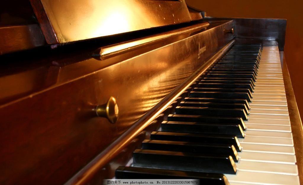 钢琴图片_其他_psd分层_图行天下图库