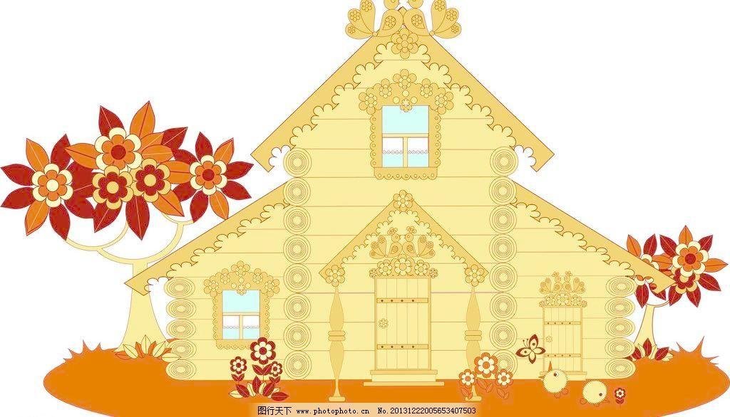 房屋外装饰模板