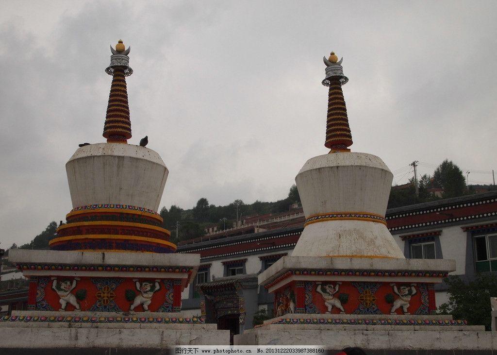 八塔 天空 寺庙 树木 塔身 花纹 国内摄影 国内旅游 旅游摄影 摄影