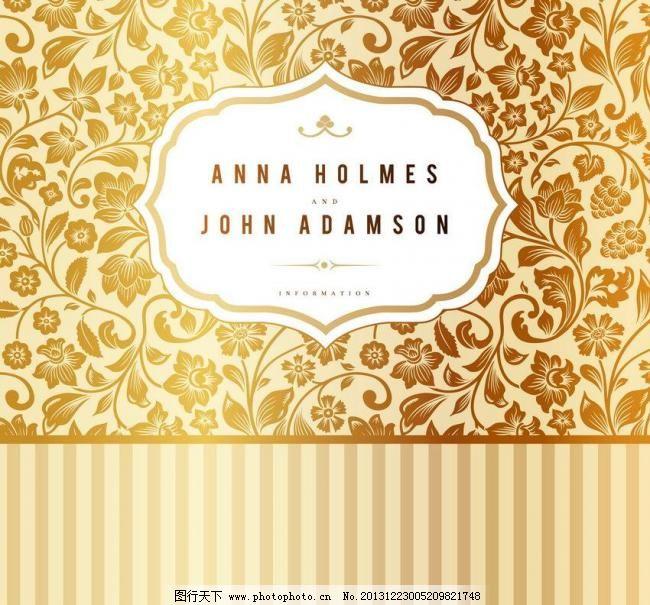 刺绣 底纹 底纹背 金色花纹矢量素材 金色花纹模板下载 金色花纹 欧式
