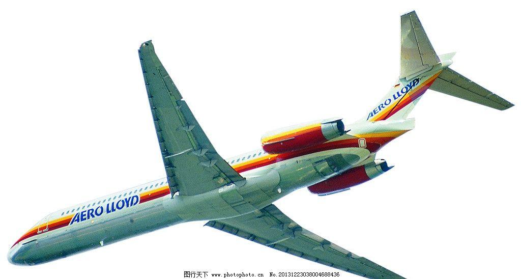 航空飞机降落图片